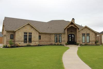 Lubbock Single Family Home For Sale: 6206 103rd Street