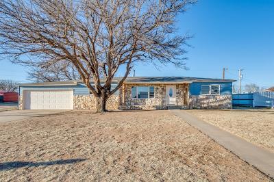 Tahoka Single Family Home For Sale: 2228 N 4th