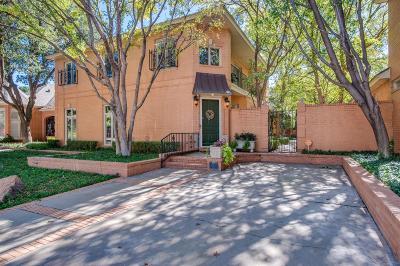 Lubbock Garden Home For Sale: 4407 7th Street