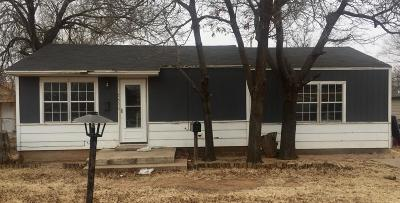 Lubbock Single Family Home Under Contract: 2809 37th Street