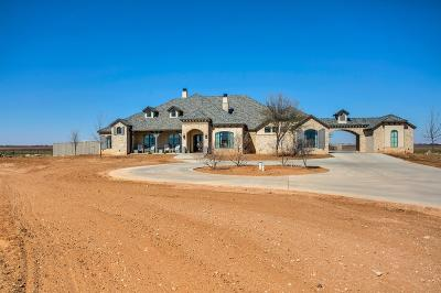 Lubbock Single Family Home For Sale: 4412 Farm Road 41