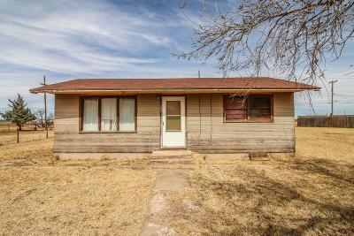 Lubbock TX Single Family Home Under Contract: $26,500
