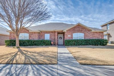 Lubbock Single Family Home Under Contract: 4903 Harvard Street