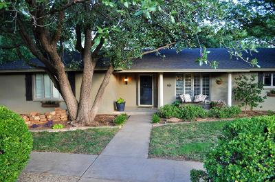 Lubbock TX Single Family Home For Sale: $259,000