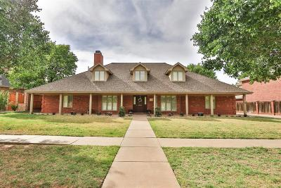 Lubbock Single Family Home For Sale: 8508 Oxford Avenue