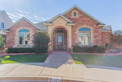 Lubbock Single Family Home For Sale: 10218 Nashville Avenue