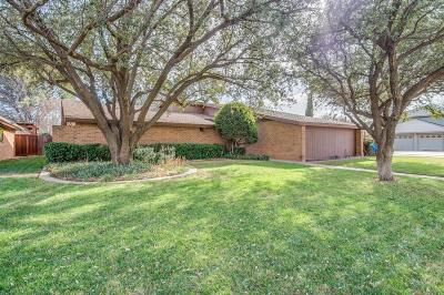 Lubbock TX Single Family Home Under Contract: $199,000