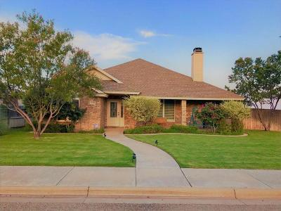 Lubbock Single Family Home For Sale: 9809 Grover Avenue