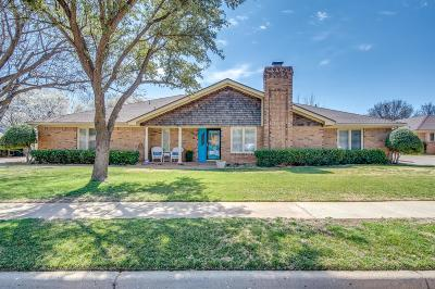 Lubbock Single Family Home For Sale: 4013 88th Street