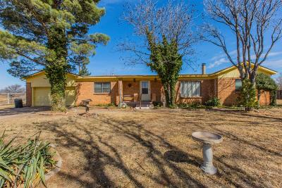 Lubbock Single Family Home For Sale: 1501 E 82nd Street