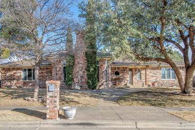 Lubbock Single Family Home For Sale: 9203 Lynnhaven Avenue