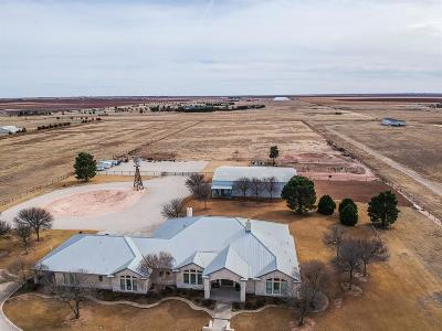 Lubbock Single Family Home Under Contract: 5411 County Road 7940