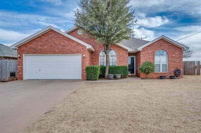 Wolfforth TX Single Family Home Under Contract: $159,950