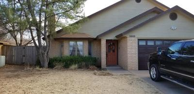 Lubbock Single Family Home Under Contract: 5609 95th Street