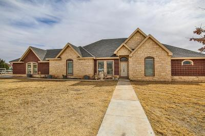 Lubbock Single Family Home For Sale: 5623 Woodrow Road