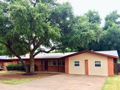 Lubbock Single Family Home For Sale: 3611 45th Street