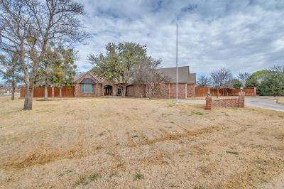 Lubbock Single Family Home For Sale: 8308 County Road 6915