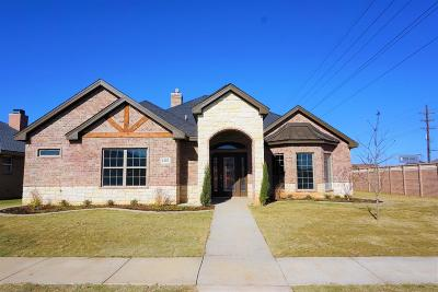 Lubbock Single Family Home For Sale: 4402 109th Street