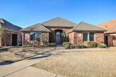 Lubbock Single Family Home For Sale: 4423 110th Street