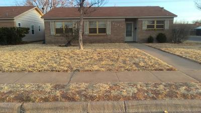 Lubbock TX Single Family Home For Sale: $83,900