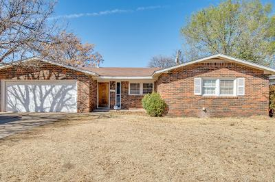 Lubbock TX Single Family Home For Sale: $110,000