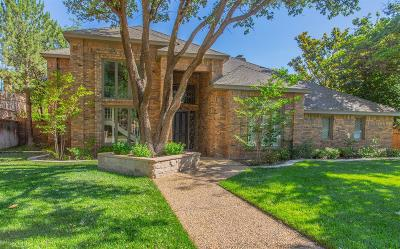 Lubbock Single Family Home For Sale: 4609 91st Street