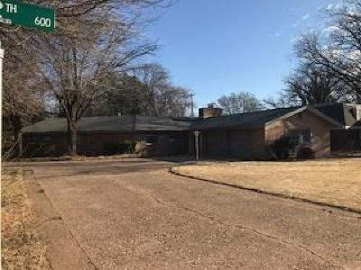 Bailey County, Lamb County Single Family Home For Sale: 601 12th