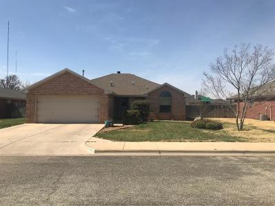 Lubbock Single Family Home For Sale: 9704 Vernon Avenue