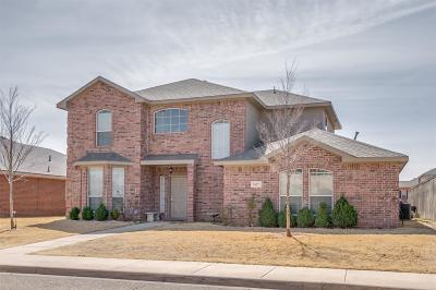 Lubbock TX Single Family Home Under Contract: $205,000