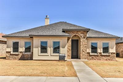 Lubbock Single Family Home For Sale: 5244 Marshall Street