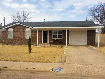 Brownfield Single Family Home For Sale: 615 N B Street