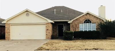 Lubbock Single Family Home For Sale: 2803 87th Street