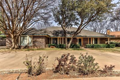 Lubbock Single Family Home Under Contract: 4410 88th Place
