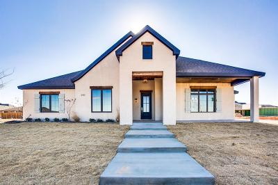 Lubbock Single Family Home For Sale: 3919 137th