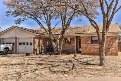 Lubbock Single Family Home For Sale: 7801 Vernon Avenue