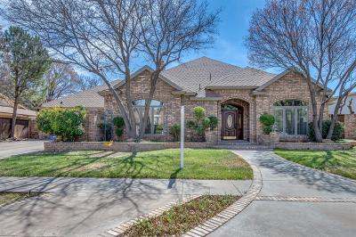 Lubbock Single Family Home For Sale: 3709 96th Street