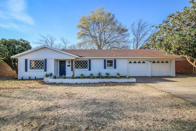 Lubbock Single Family Home For Sale: 3805 53rd Street