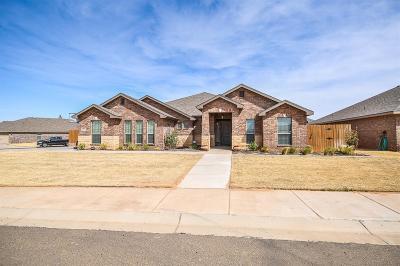 Lubbock Single Family Home For Sale: 9201 Saratoga Avenue