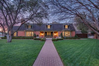 Lubbock Single Family Home Under Contract: 4610 15th Street