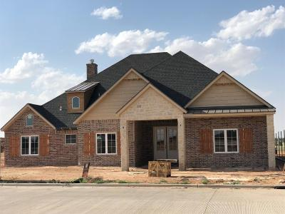 Lubbock TX Single Family Home For Sale: $419,900