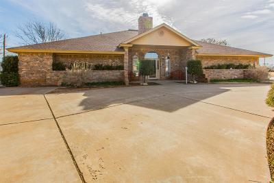 Slaton Single Family Home Under Contract: 1002 N 21st Street