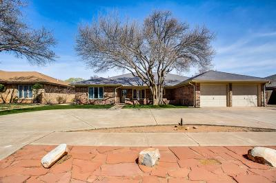 Lubbock Single Family Home Under Contract: 5404 87th Street