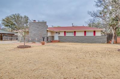 Lubbock TX Single Family Home For Sale: $174,900