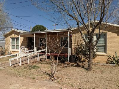 Lamesa Single Family Home Under Contract: 4403 N Ave F