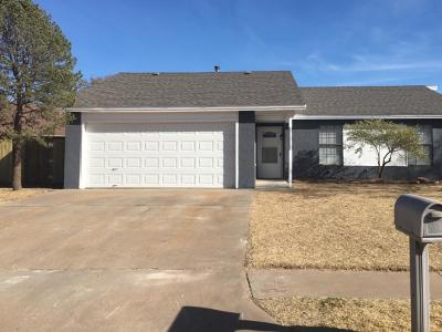 Lubbock Single Family Home For Sale: 6133 38th Street