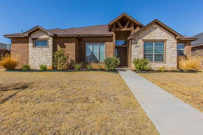 Lubbock Single Family Home For Sale: 3814 134th Street