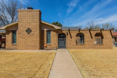 Lubbock Single Family Home For Sale: 5406 75th Street