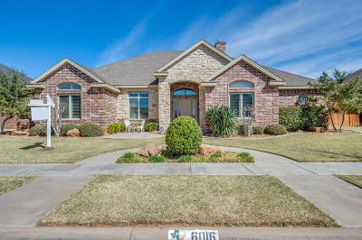 Lubbock Single Family Home For Sale: 6016 91st Street
