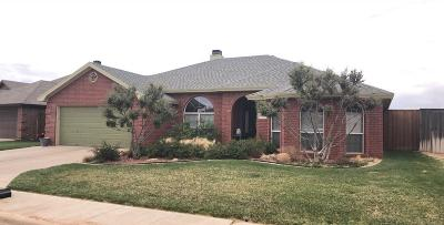 Lubbock TX Single Family Home Under Contract: $208,900