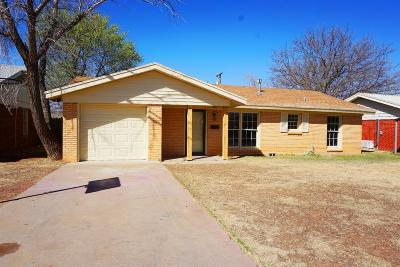 Lubbock Single Family Home For Sale: 5108 44th Street
